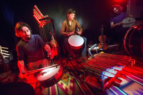 ŠIROM (Samo Kutin, Ana Kravanja, Iztok Koren), Salon za ENO glasbo, 14.3.2015